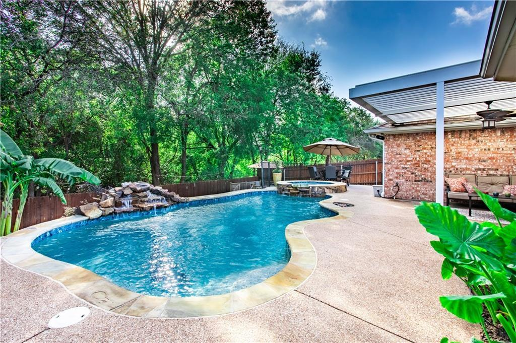 flower mound home for sale pool | 5228 Timber Park Drive Flower Mound, Texas 75028 32