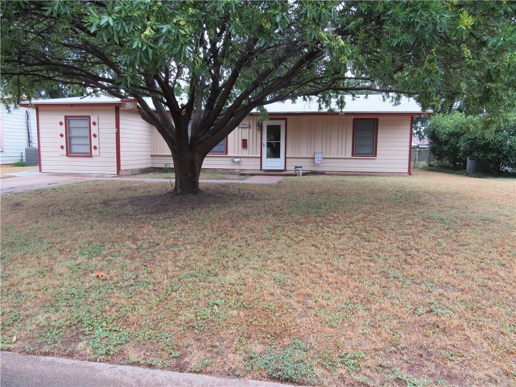Sold Property | 1181 Yorktown Drive Abilene, Texas 79603 0