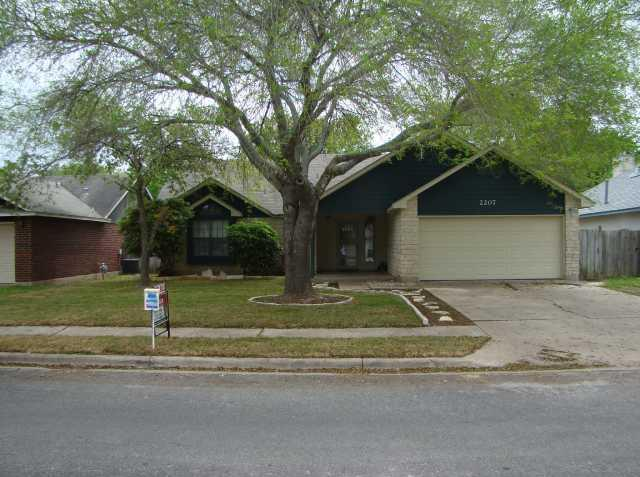 Sold Property | 2207 Mimosa TRL Round Rock, TX 78664 0