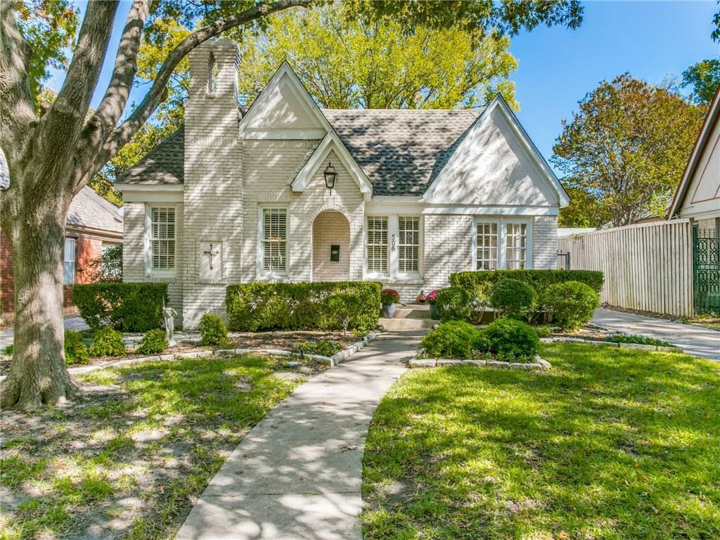 Sold Property | 506 Valencia Street Dallas, Texas 75223 1