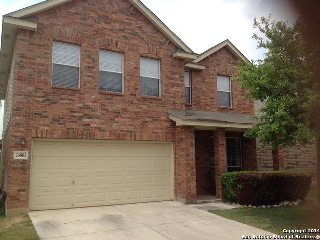 Off Market | 26803 Sparrow Ridge  San Antonio, TX 78261 0