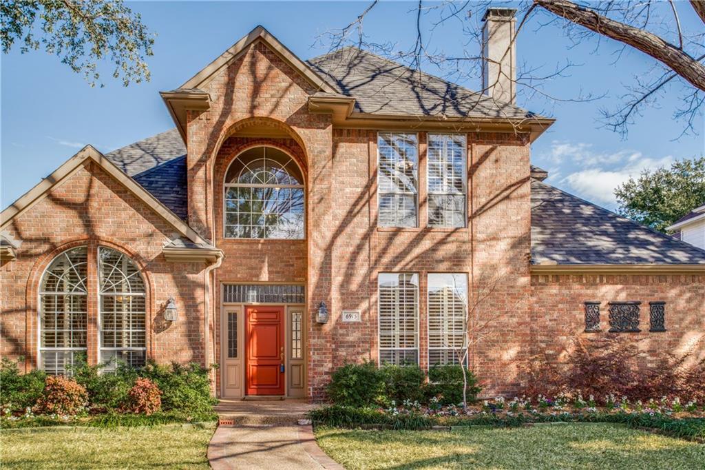 Sold Property   6915 Glenbrook Lane Dallas, Texas 75252 0