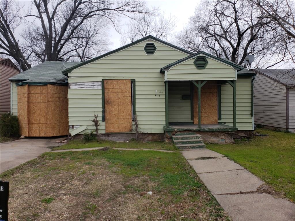 Sold Property | 2239 Fordham  Dallas, Texas 75216 0