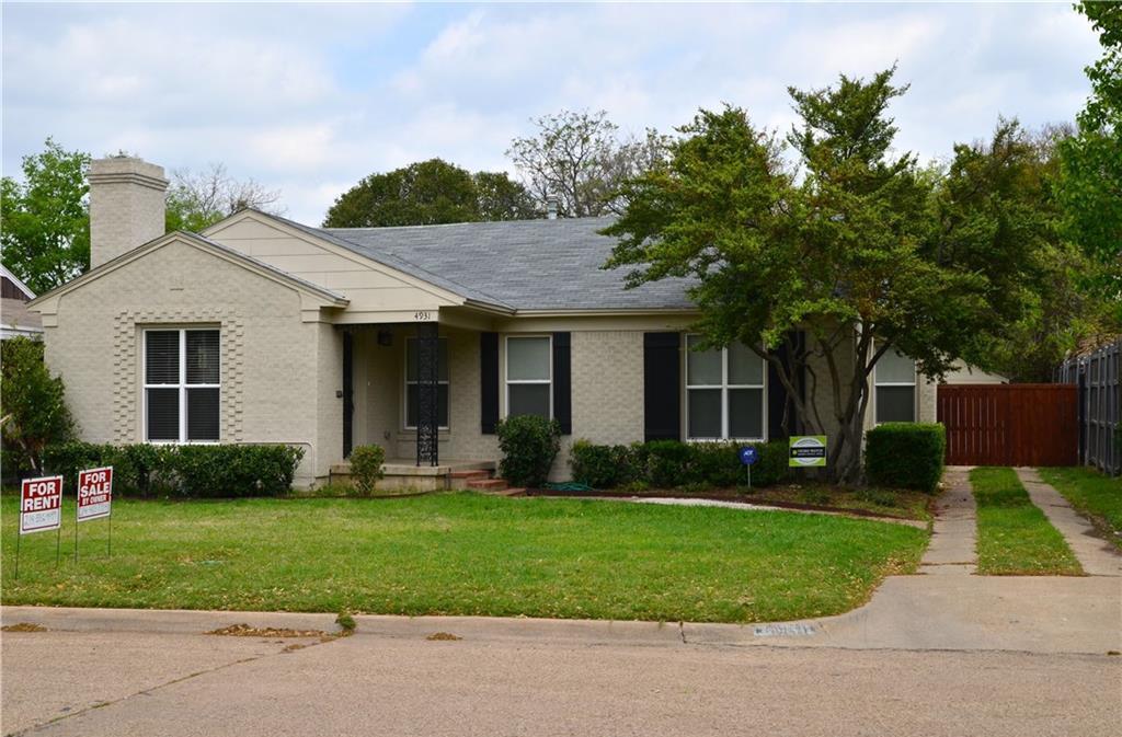 Sold Property | 4931 Wren Way Dallas, Texas 75209 0