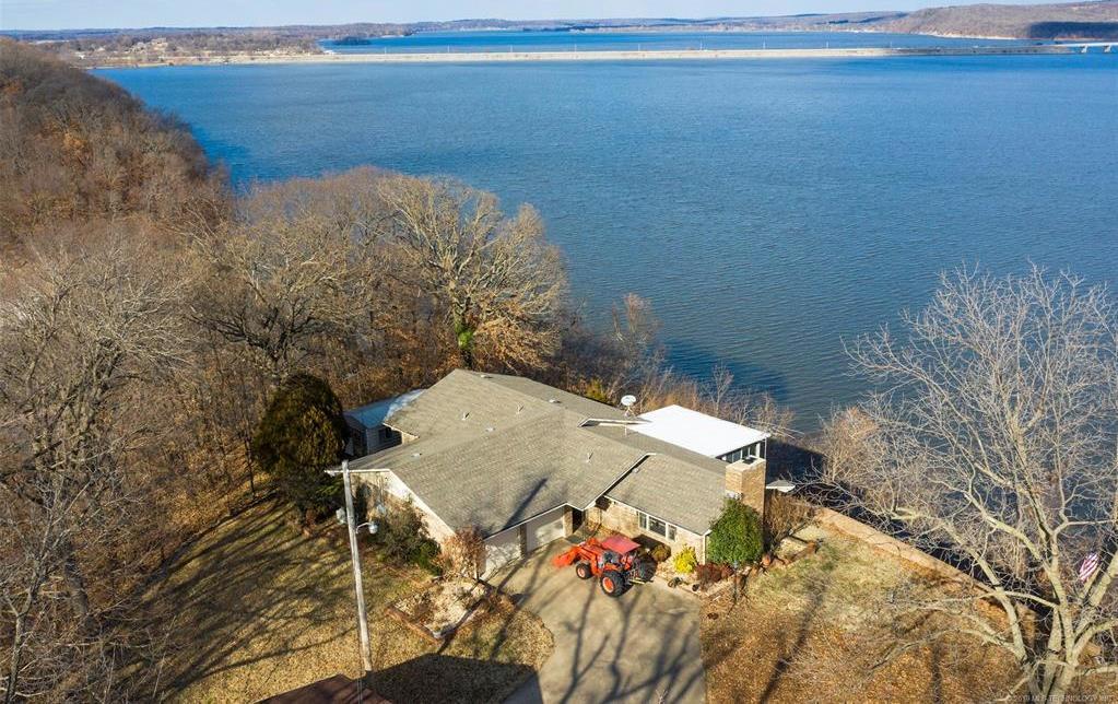 Lake homes on lake Hudson | 329 Big Bluff Road Pryor, Oklahoma 74361 31