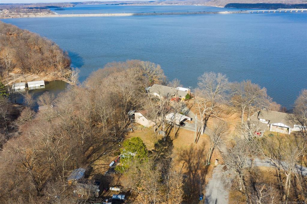 Lake homes on lake Hudson | 329 Big Bluff Road Pryor, Oklahoma 74361 34