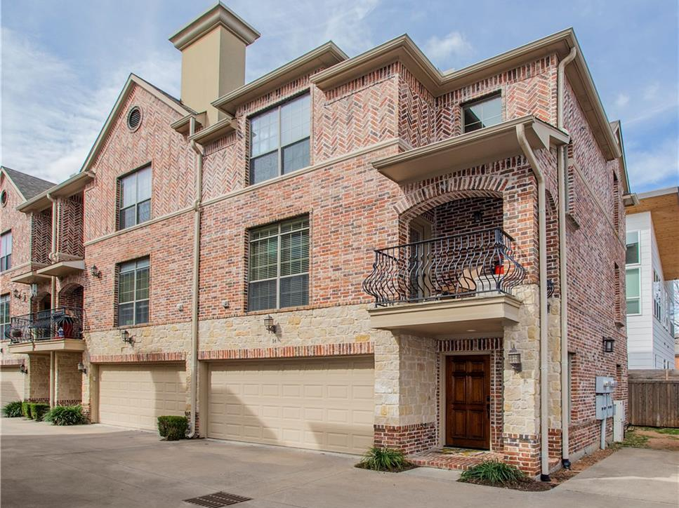 Sold Property | 1910 Hope Street #16 Dallas, Texas 75206 0