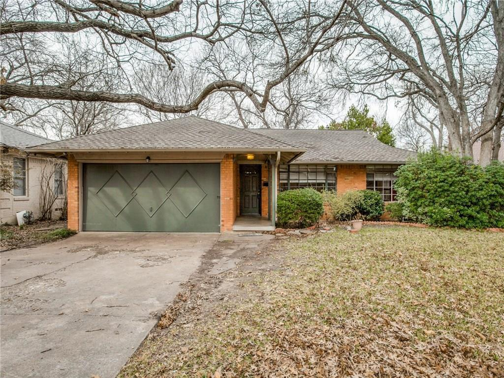 Sold Property | 6817 Blessing Drive Dallas, Texas 75214 0