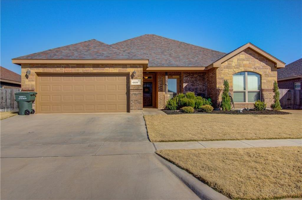 Sold Property | 4809 Big Bend Trail Abilene, Texas 79602 1