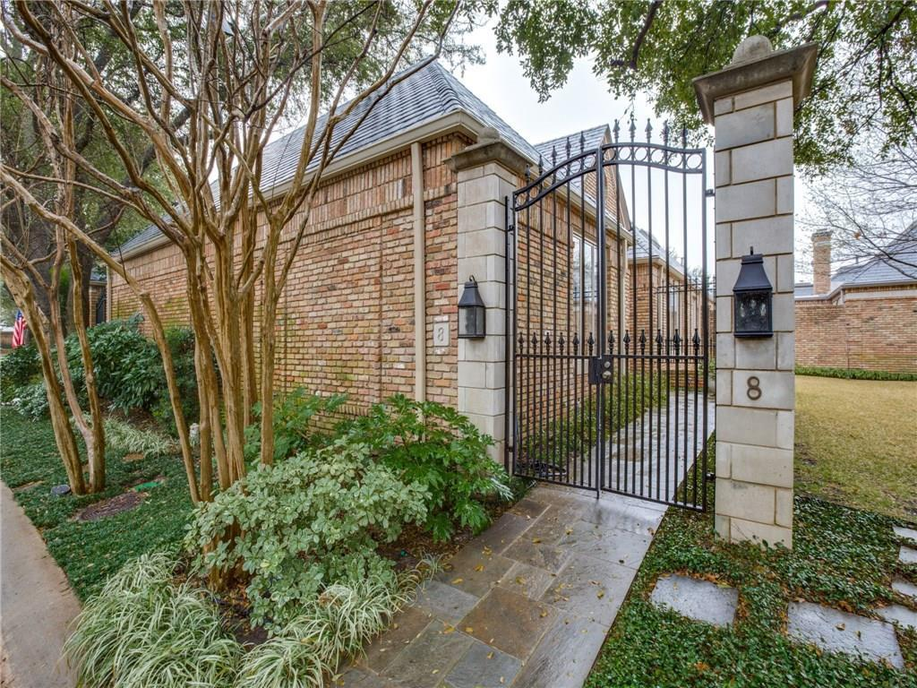 Sold Property | 8 Stonecourt Drive Dallas, Texas 75225 0