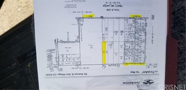 Closed | 0 Vac/Vic Avenue Q/85 Ste Sun Village, CA 93543 3