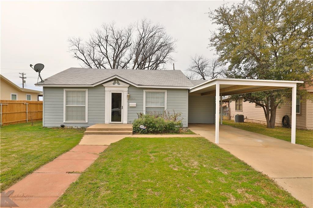 Sold Property | 1210 Ross Avenue Abilene, Texas 79605 0