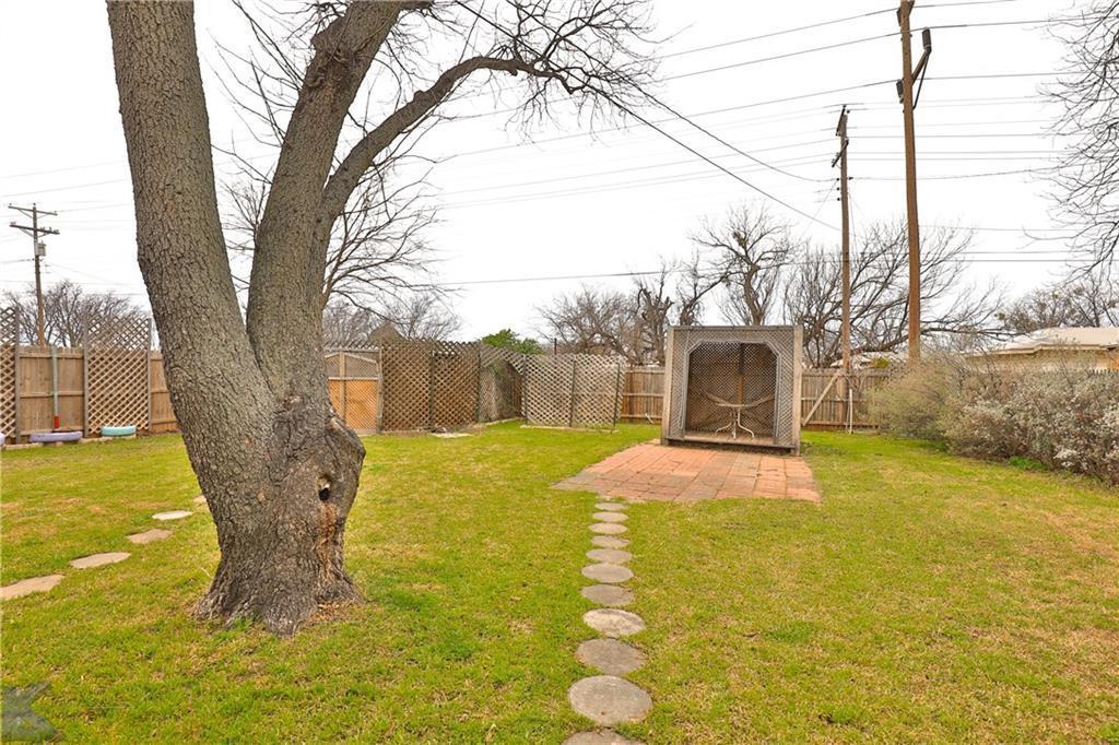 Sold Property | 1210 Ross Avenue Abilene, Texas 79605 33