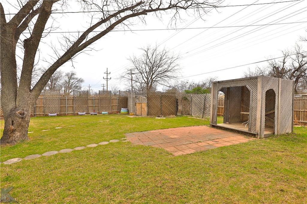 Sold Property | 1210 Ross Avenue Abilene, Texas 79605 34