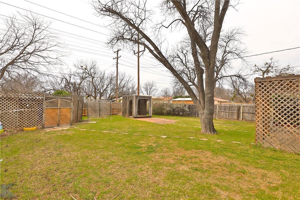 Sold Property | 1210 Ross Avenue Abilene, Texas 79605 35