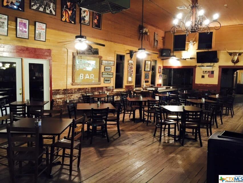 business, commercial, bar, restaurant, old country town feel, beer, wine, food, beverages, comfort | 208 Broadway  Nordheim, TX 78141 12
