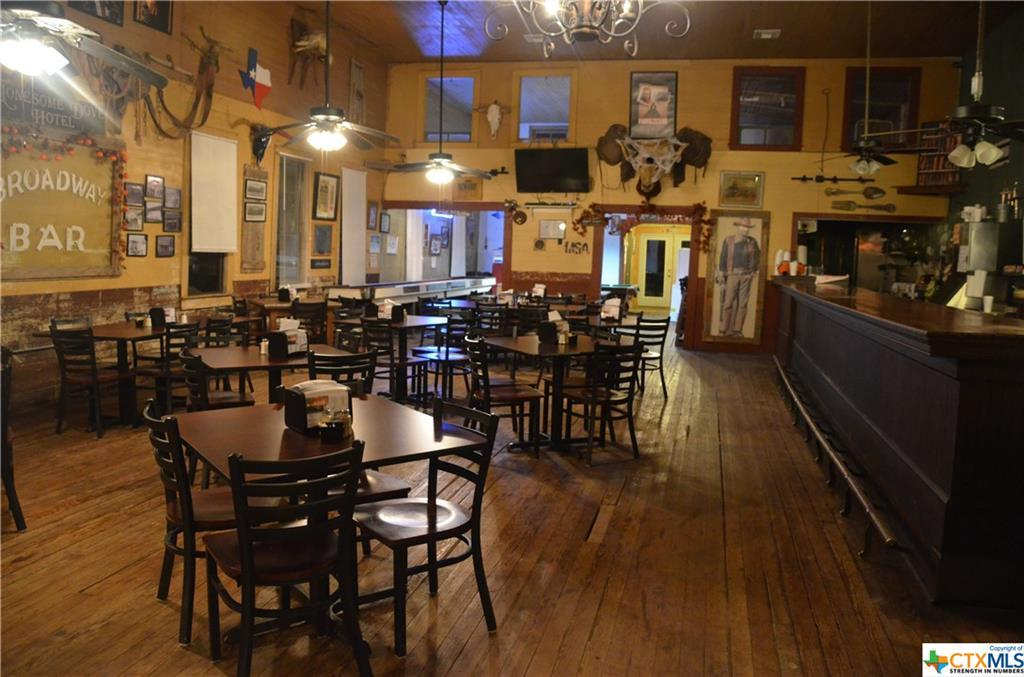 business, commercial, bar, restaurant, old country town feel, beer, wine, food, beverages, comfort | 208 Broadway  Nordheim, TX 78141 9