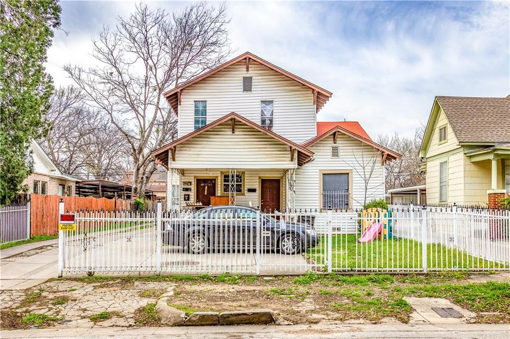 Sold Property   2311 Market Avenue Fort Worth, Texas 76164 2