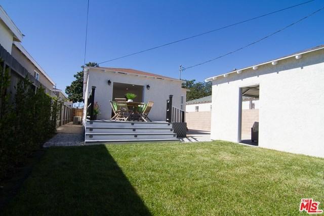 west adams, opportunity zone, los angeles, culver city, best home, back yard, real estate, paul fisher, yard, patio, big kitchen   2644 S SPAULDING Avenue Los Angeles, CA 90016 16