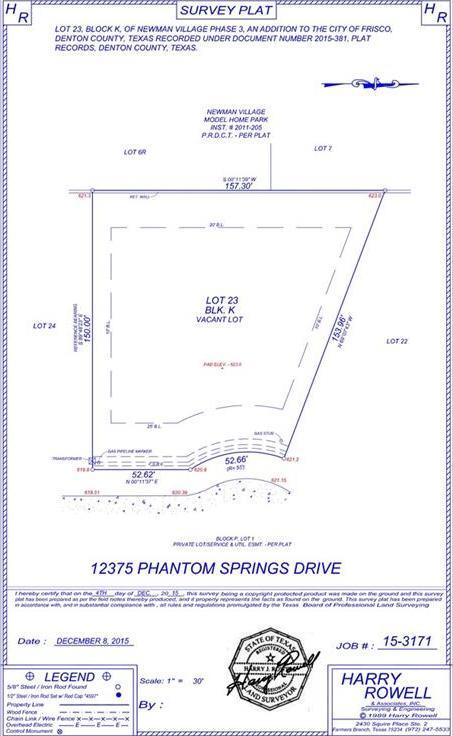 Active | 12375 Phantom Springs Drive Frisco, Texas 75033 0