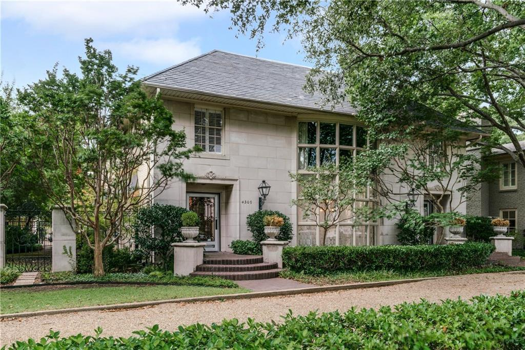 Sold Property | 4309 University Boulevard University Park, Texas 75205 4
