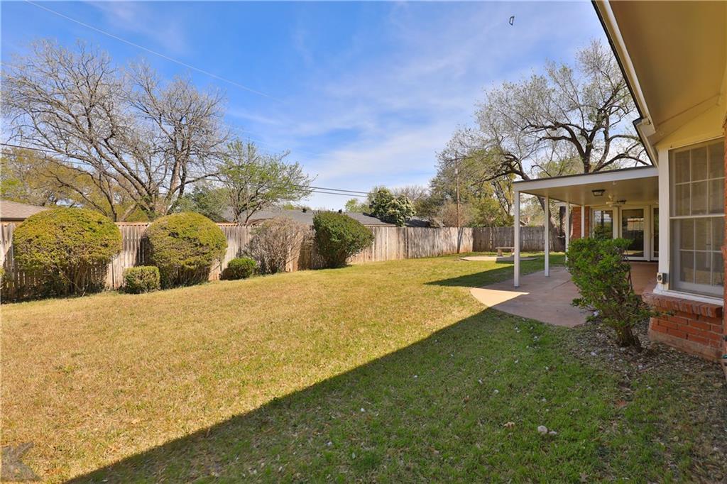 Sold Property | 2117 Regent Drive Abilene, Texas 79605 31