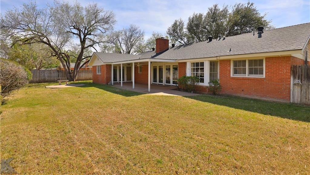 Sold Property | 2117 Regent Drive Abilene, Texas 79605 32