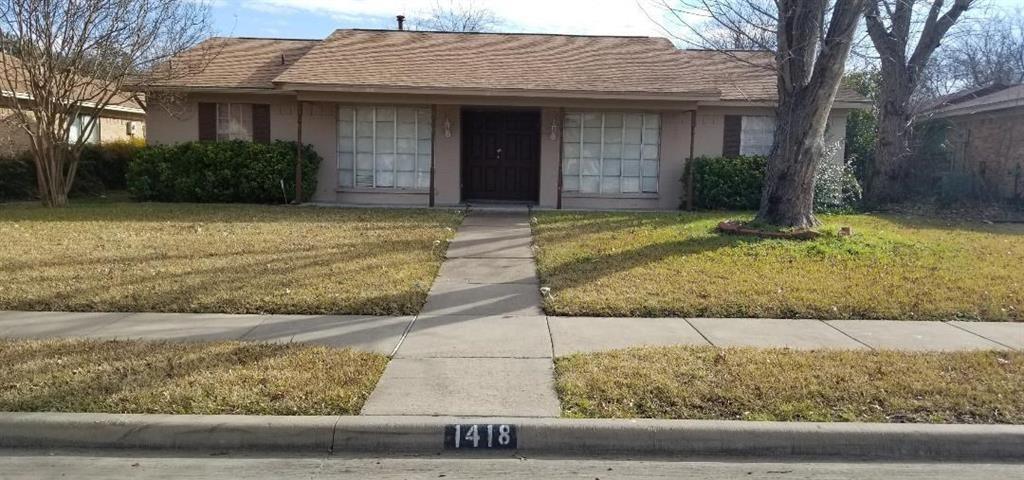 Leased | 1418 Kingsbridge Drive Garland, Texas 75044 0