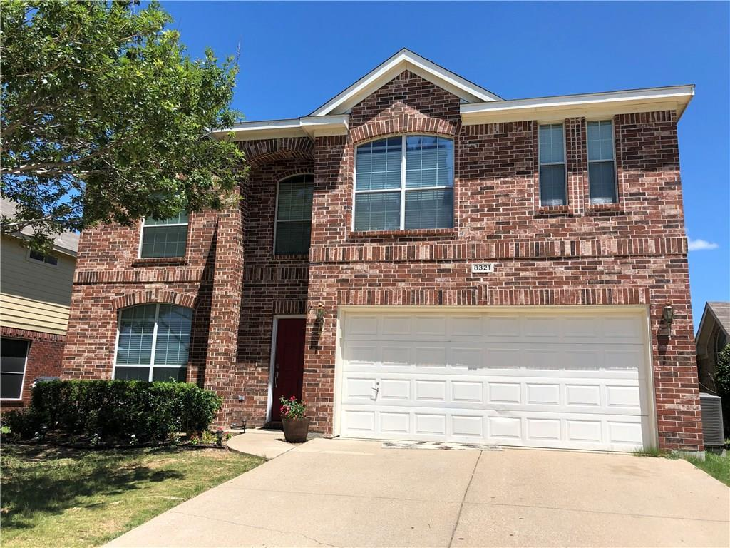 Expired   8321 Rolling Rock Drive Fort Worth, Texas 76123 0