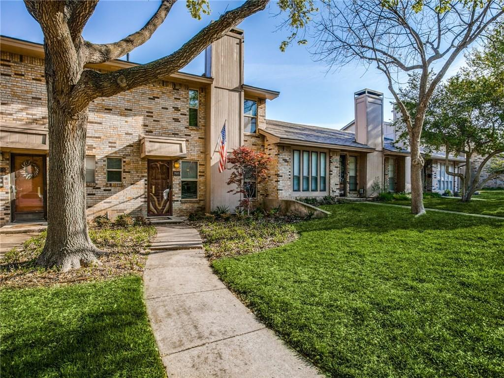 Sold Property | 7611 Pebblestone Drive #7 Dallas, Texas 75230 0