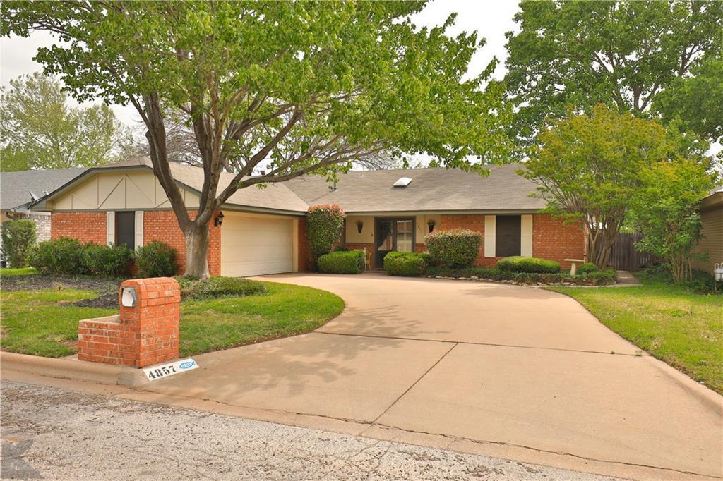 Sold Property | 4857 Annette Lane Abilene, Texas 79606 0