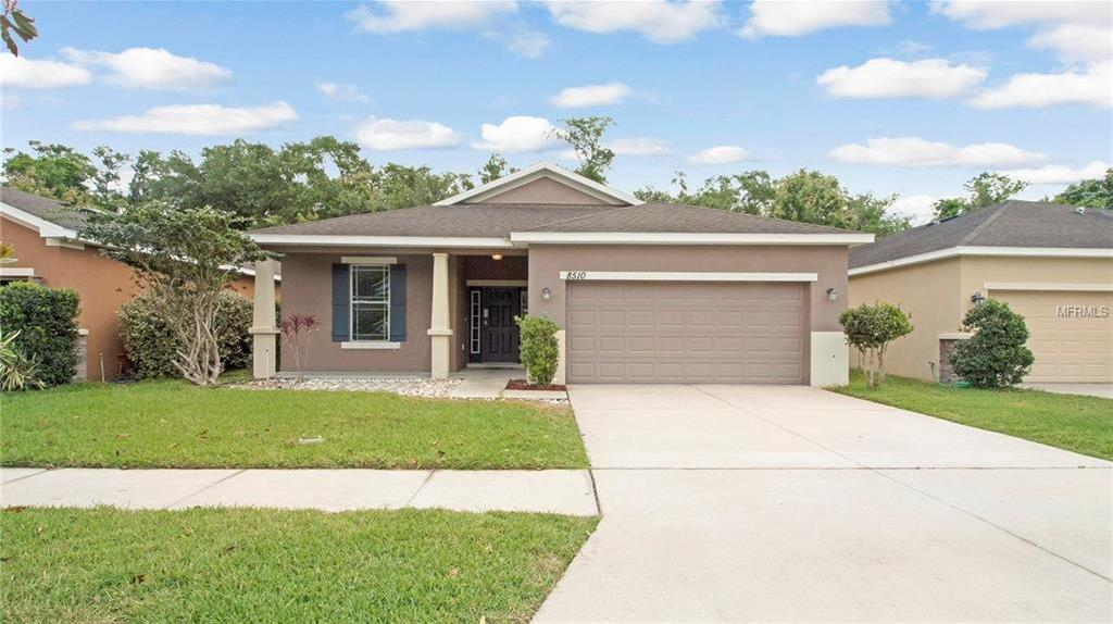 Active | 8510 TIDAL BREEZE DRIVE RIVERVIEW, FL 33569 0