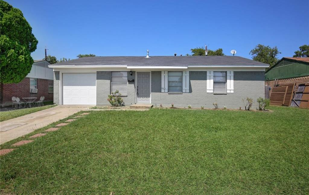Sold Property   913 Lister Drive Garland, Texas 75040 0