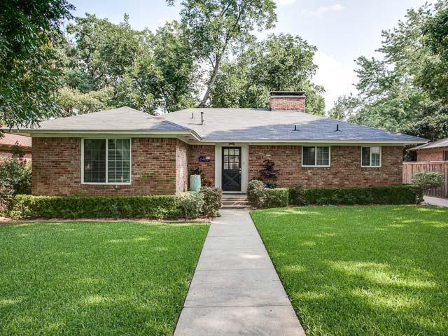 Sold Property | 6452 Highgate Lane Dallas, Texas 75214 0