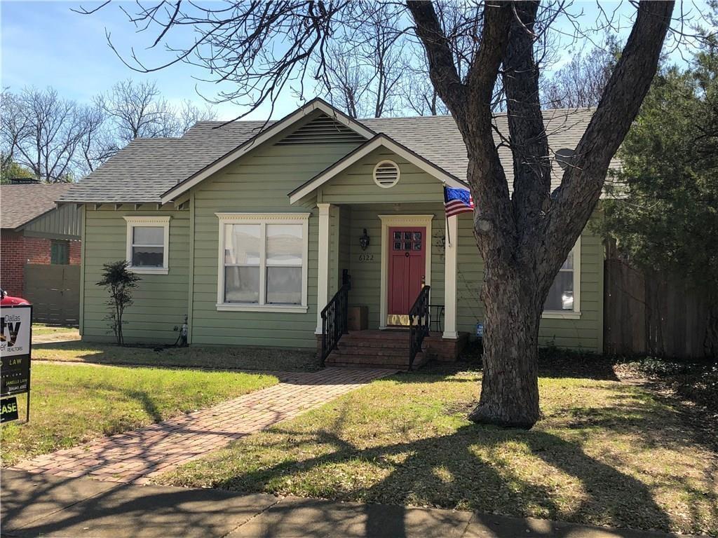 Leased | 6122 Tremont Avenue Dallas, Texas 75214 1