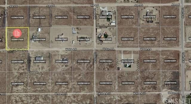 Closed | 0 Vac/Cor Avenue A8/Vic 75 Stw Antelope Acres, CA 93536 1
