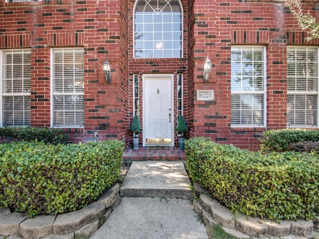 Sold Property | 18223 Muir Circle Dallas, Texas 75287 2