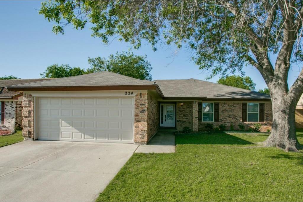 Sold Property   224 Juniper Drive Arlington, Texas 76018 1