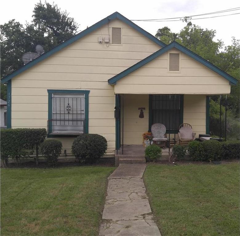 Sold Property | 1726 Mentor Avenue Dallas, Texas 75216 0