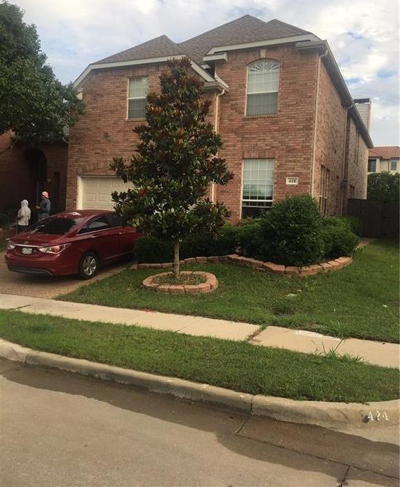 Leased   418 Lacebark Drive Irving, Texas 75063 0