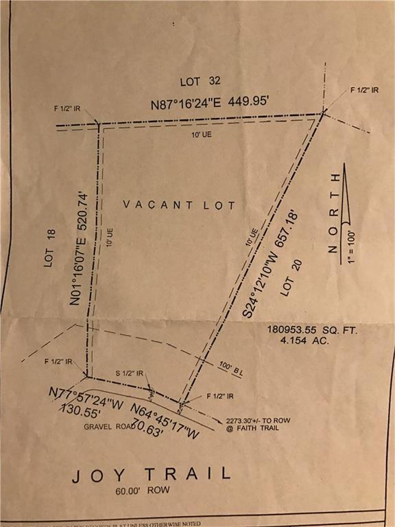 Sold Property | Lot 19 Joy Trail Paradise, Texas 76073 3