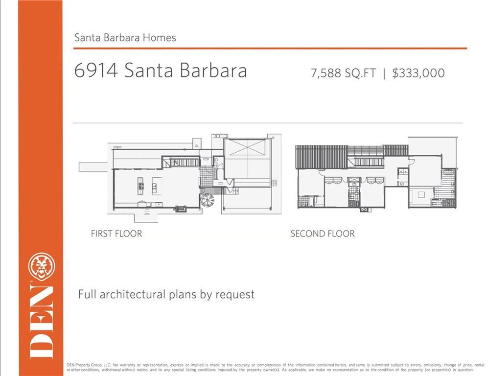 Sold Property | 6914 Santa Barbara  Dallas, Texas 75214 1