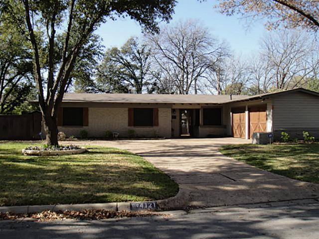 Sold Property | 4121 Bilglade Road Fort Worth, Texas 76109 0