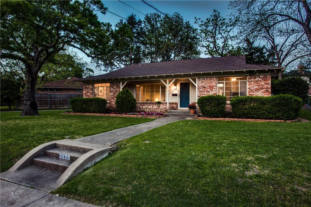 Sold Property | 6528 Ridgemont Drive Dallas, Texas 75214 1