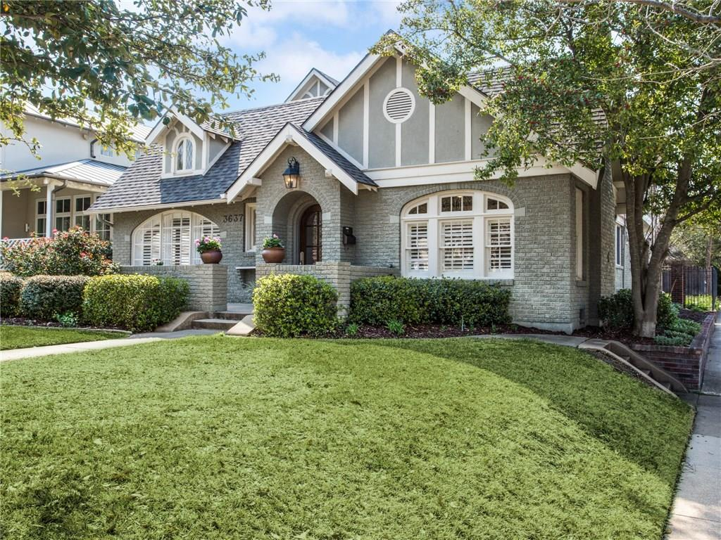 Sold Property | 3637 Normandy Avenue Highland Park, Texas 75205 1