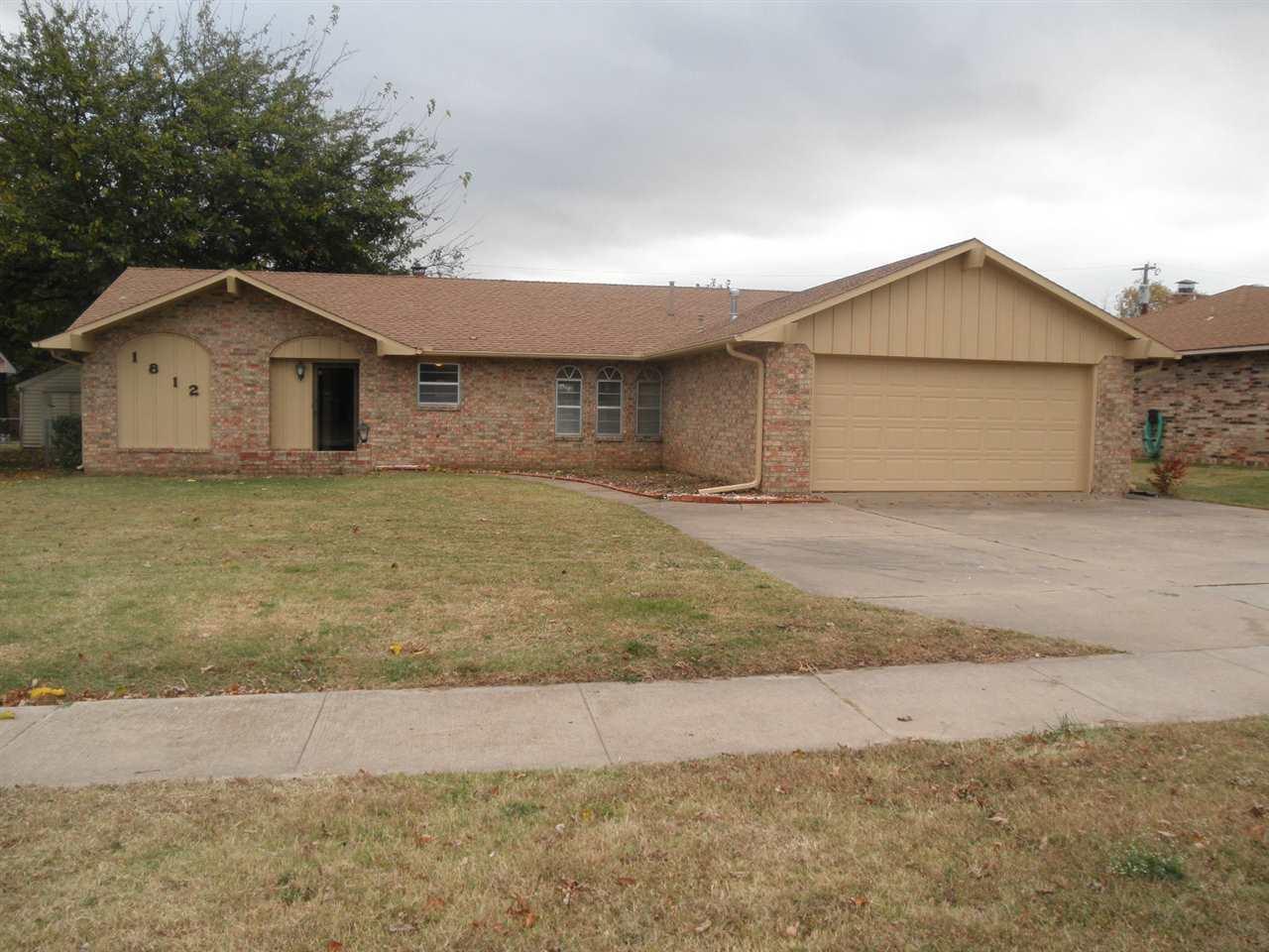 Sold Intraoffice W/MLS | 1812 E Prospect  Ponca City, OK 74604 0