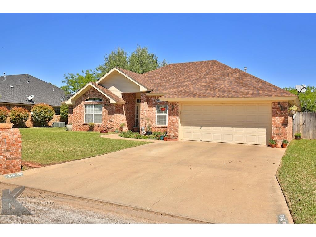 Sold Property | 2218 Rim Rock Road Abilene, Texas 79606 1