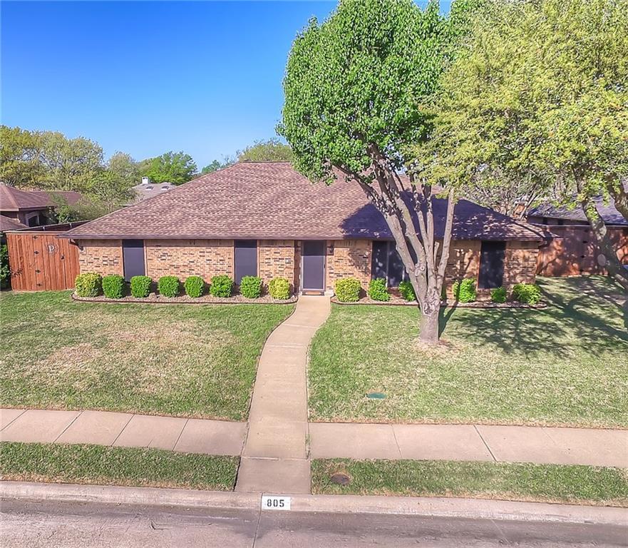 Sold Property | 805 Meadow Creek  Allen, Texas 75002 1