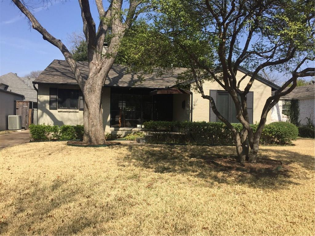 Leased | 4606 Belclaire Avenue Highland Park, Texas 75209 0