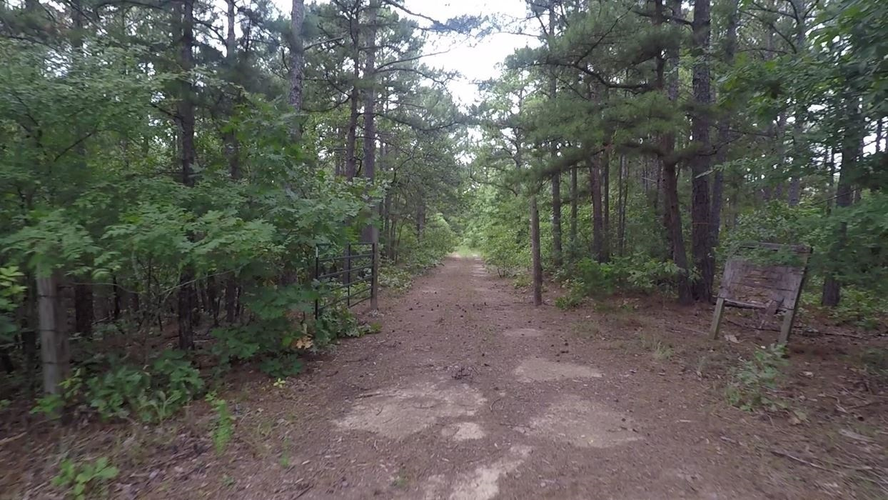 large hunting, hunting land, pond creek, trails, wooded property | Indian Hwy Albion, OK 74571 6